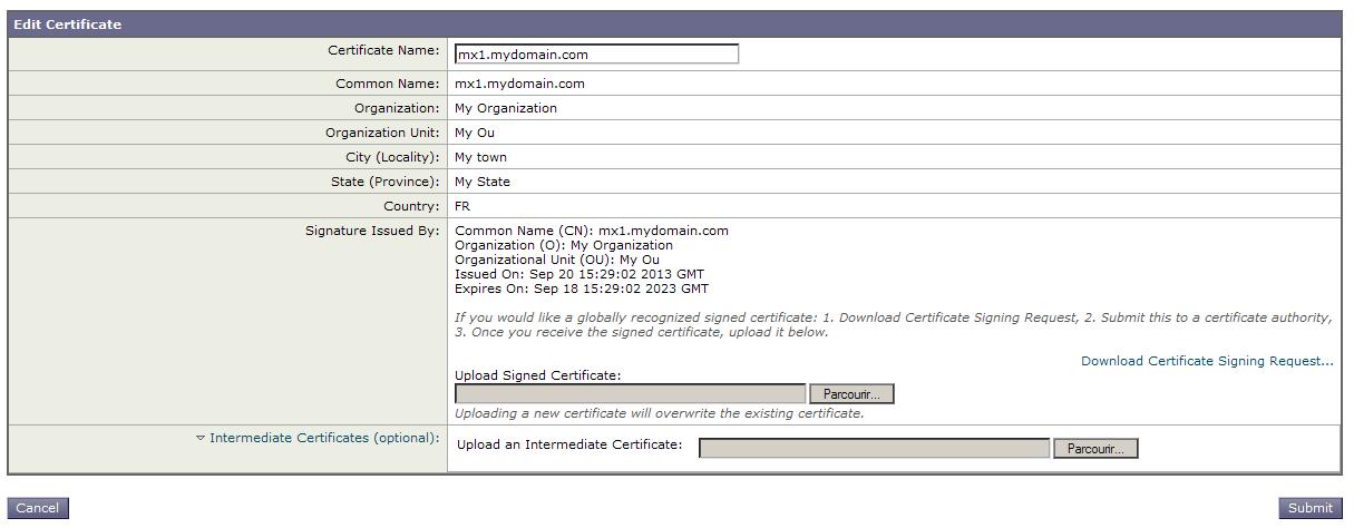 Certificate Installation : Cisco IronPort C170 - Powered by Kayako ...