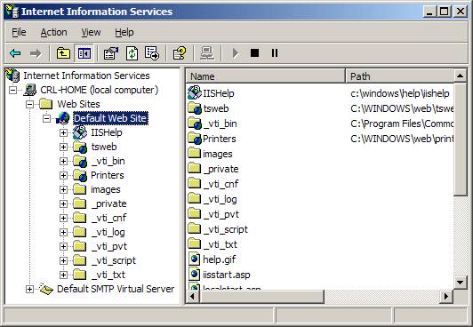 Install a Microsoft IIS5 or IIS6 certificate