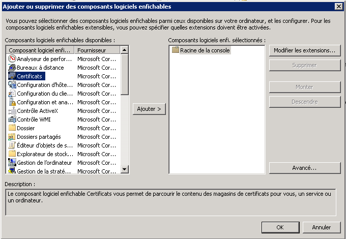 Delete a certificate on Windows Server