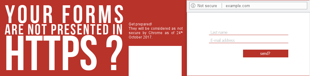 In October, secure your forms with HTTPS