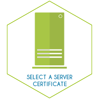 Select a server certificate
